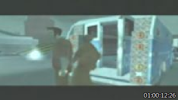 GTA III (2001) contained flickering scenes such as this one that failed the seizure safety guidelines because of rapidly alternating lighting levels.