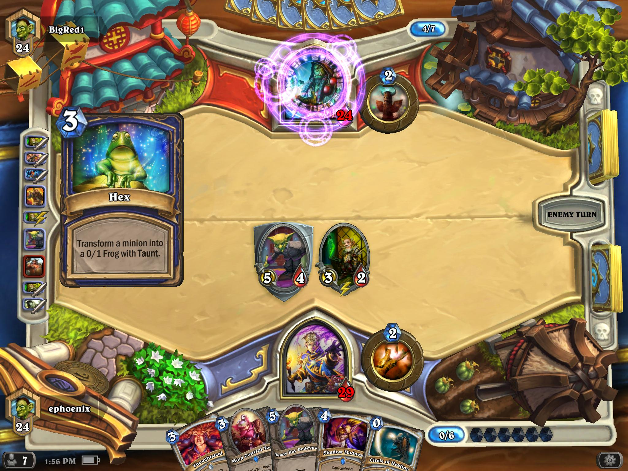 Video Game Called Psychology Warning Hearthstone Screen