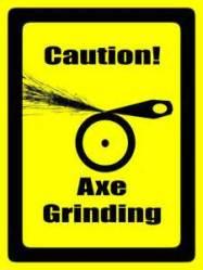 axe grinding