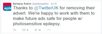 Epilepsy Action Twitter 3